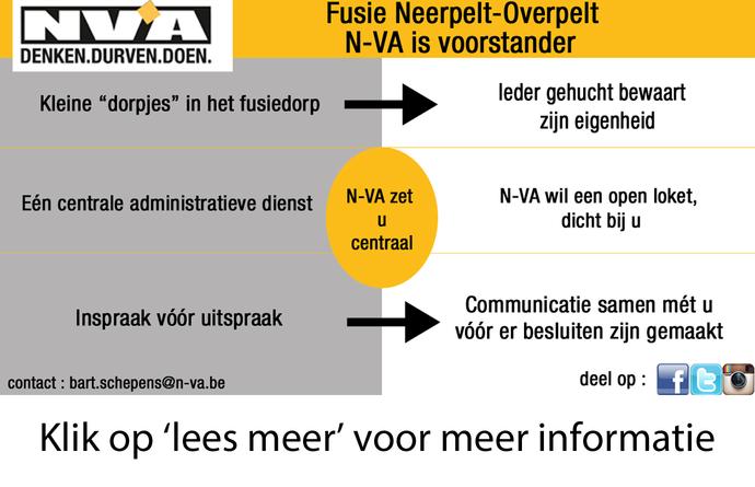 Fusie Neerpelt-Overpelt en de burger